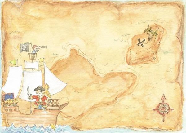 Treasure Map Invitation Templates Cool Ideas Of Treasure Hunt