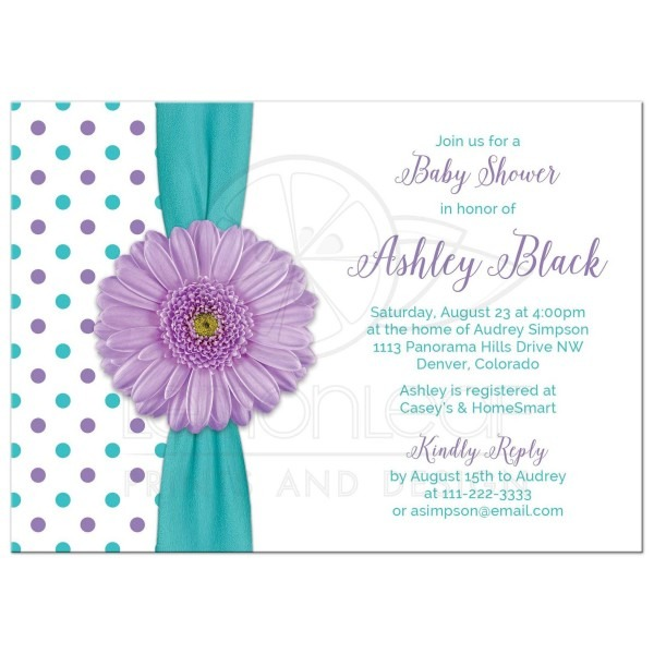 Trend Polka Dot Baby Shower Invitations 17 About Remodel