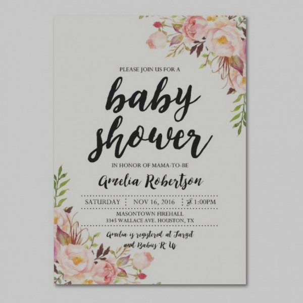 Trend When To Send Out Baby Shower Invitations Baby Shower