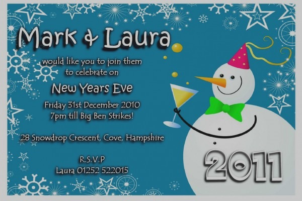 Unique Of New Year Party Invitation Wording Sample Eve Beautiful