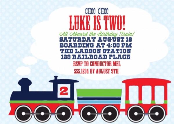 The Larson Lingo  Luke's Train Party {choo Choo Luke Is Two!}