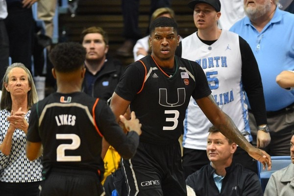 Miami Hurricanes Basketball To Face Yale In 2018 Hoophall Miami