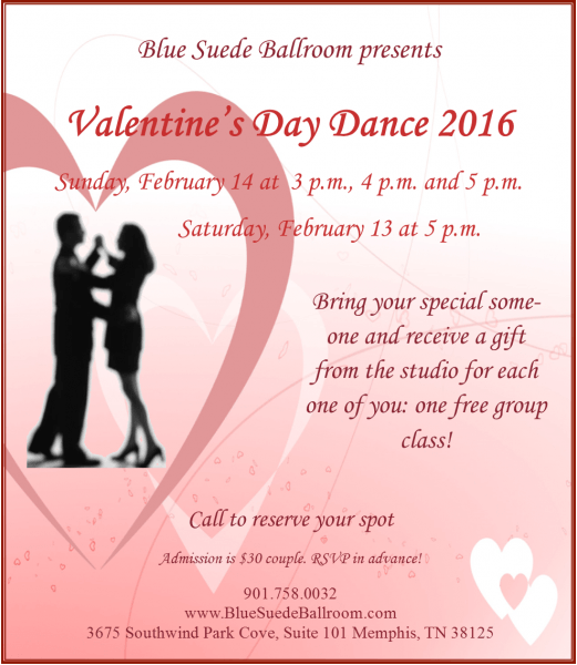 Valentine's Day Dance At Blue Suede Ballroom I Love Memphis
