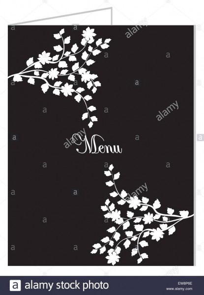 Vintage Restaurant Opening Invitation Card With Ornate Elegant
