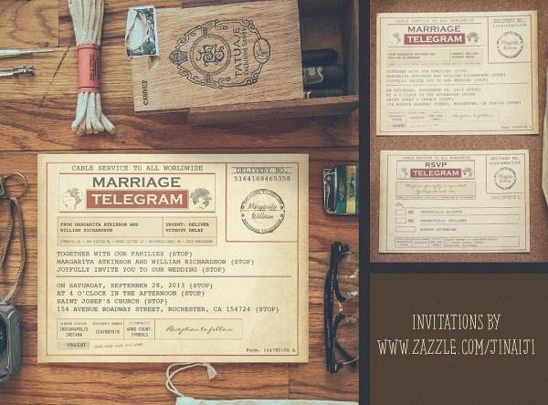 Telegram Wedding Invitations – Need Wedding Idea