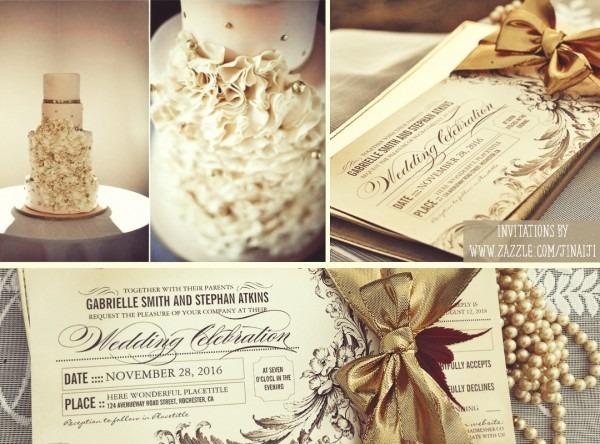 Chic Vintage Wedding Tickets – Wedding Invitations – Need Wedding