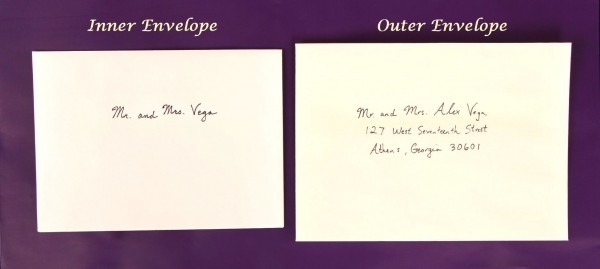 Wedding Envelope Size Guide