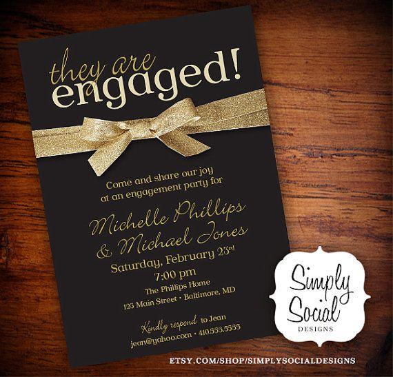 Engagement Party Invitation Engagement Stunning Wedding Engagement
