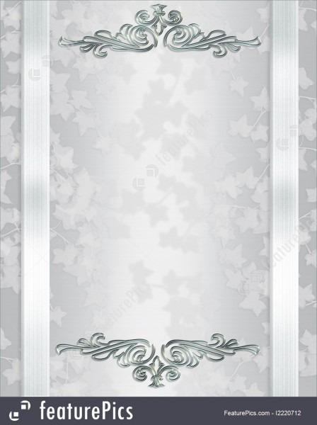 Templates  Wedding Invitation Background Elegant