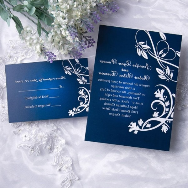 8 Best Of Wedding Invitation Design Royal Blue New