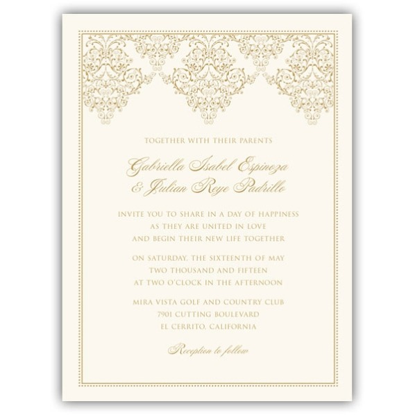 Wedding Invitation Frame Wedding Invitation Frame With Outstanding