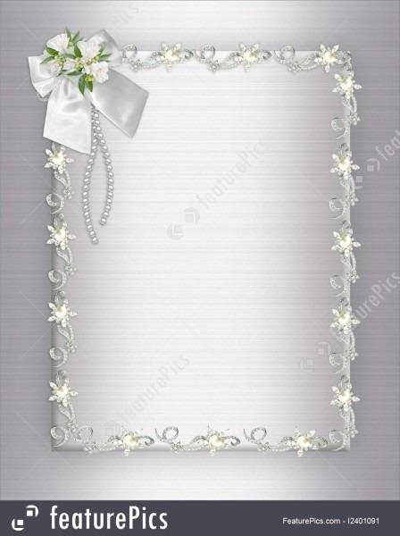 Wedding Invitation Background Elegant Stock Illustration I2401091
