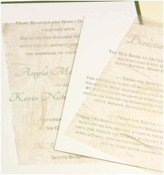 Wedding Invitation Tissue Paper Wedding Invitation Tissue