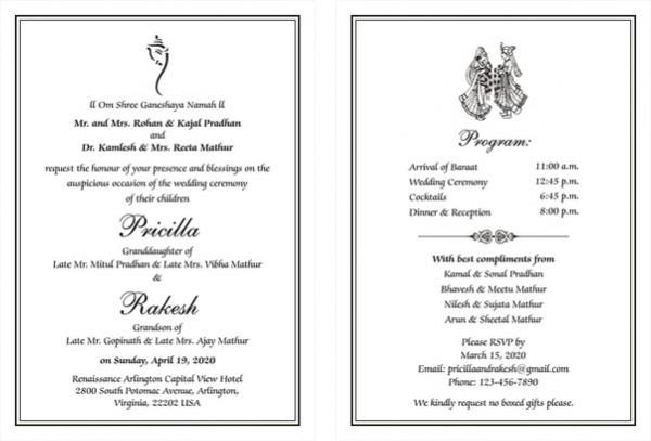 Wedding Invitation Wording Indian Also Wedding Invitation Wording