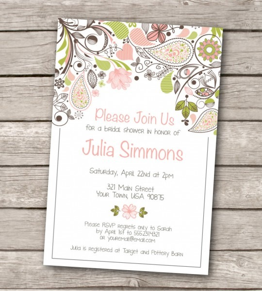 Wedding Ideas  Free Wedding Invitation Printable Templates