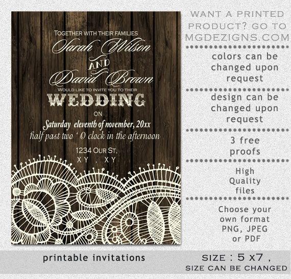 Wedding Invitations With Lace New Burgundy Wedding Invitation Kits