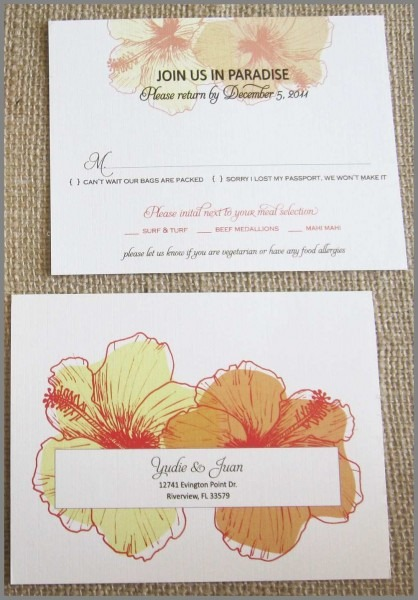Wedding Invitations With Rsvp Cards Attached Fresh Invitations