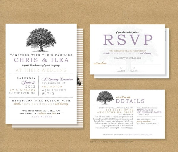 Wedding Invitations With Rsvp Wedding Invitations With Rsvp In