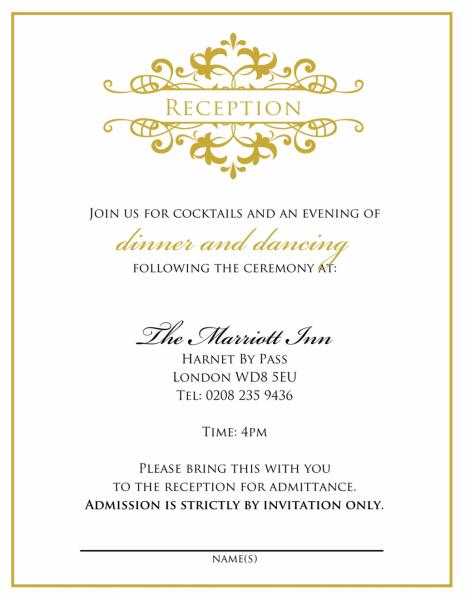 Simple Wedding Invitation Wording From Bride And Groom Njrdgbc