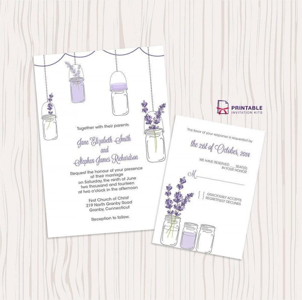 50 Absolutely Stunning Wedding Invitation Templates All For You