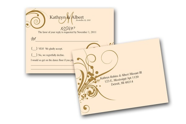 Wedding Accessories Small Envelopes For Rsvp Cards Postcard