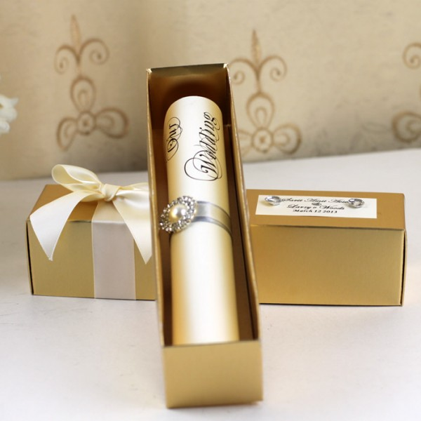 Wedding Scroll Invitations Wedding Scroll Invitations For Design