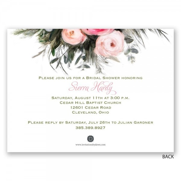 Types Of Wedding Shower Invitations – Jewelry Amor