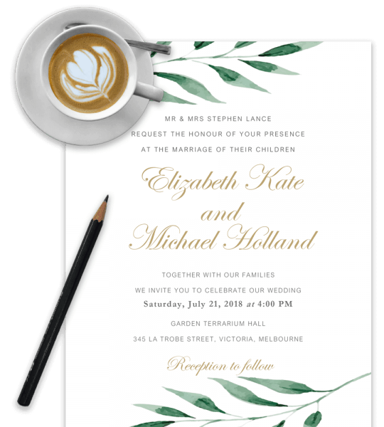 100  Free Wedding Invitation Templates In Word [download & Customize]