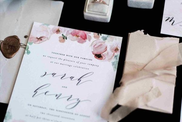 Wedding Invitation Printing Austin