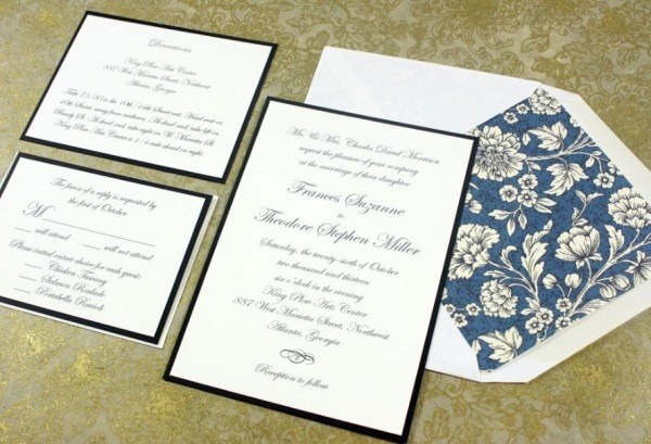 Wedding Invitation Sizes Standard