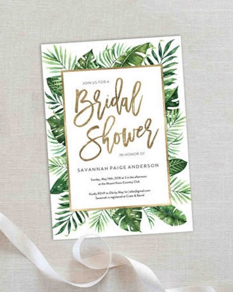 When To Send Out Bridal Shower Invites 10 Affordable Invitations