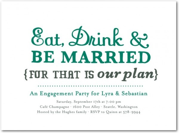 Invitation Ideas  Who Do You Invite To An Engagement Party