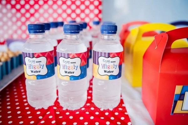 Water Bottle Labels, Jo Studio