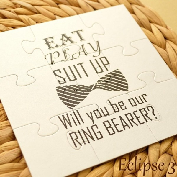Will You Be Our Ring Bearer, Personalized Ring Bearer Invitation