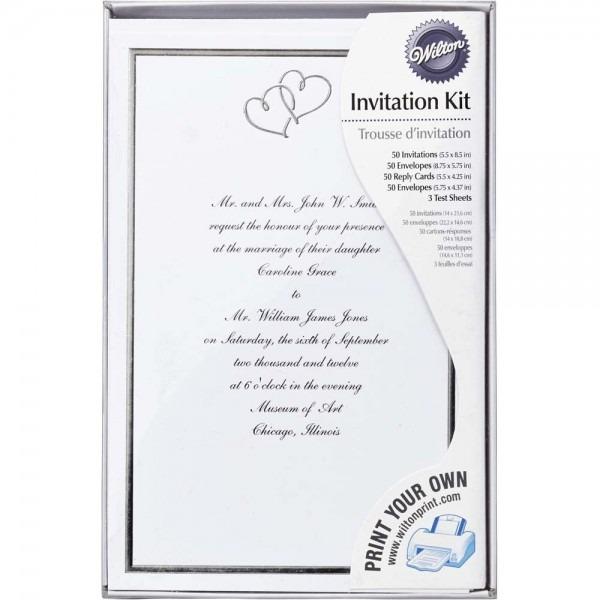 Wilton Wedding Invitations