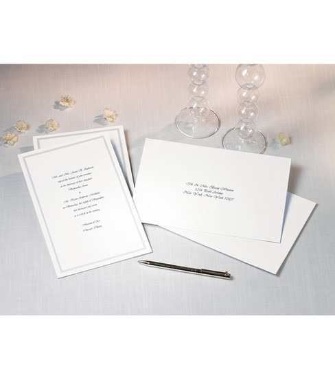 Joann Fabrics Wedding Invitations