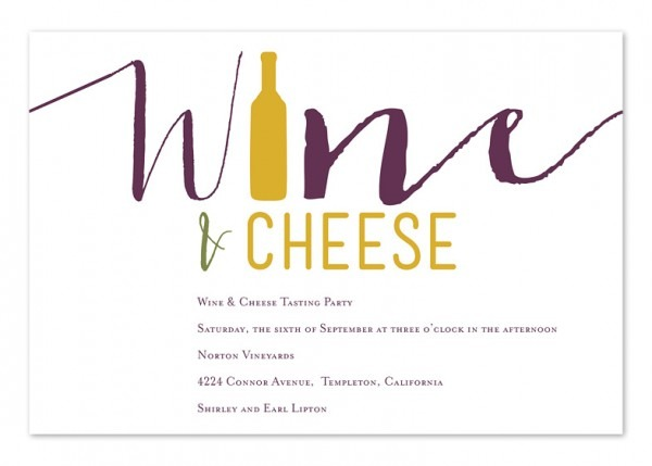 Wine Party Invitation Templates Free Good With Wine Party