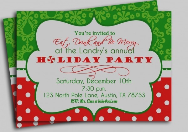 Party Invitations  Funny And Catchy Christmas Party Invitation