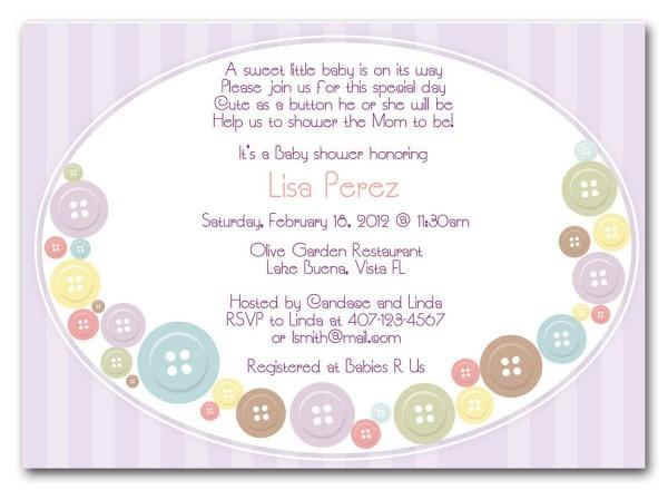 Cute Baby Shower Invitation Wording Ideas • Baby Showers Ideas