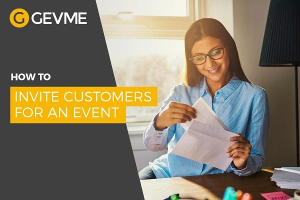 How To Invite Customers For An Event