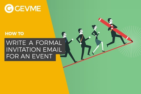 How To Write A Formal Invitation Email For An Event