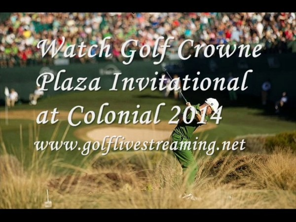Live Golf Crowne Plaza Invitational At Colonial Stream