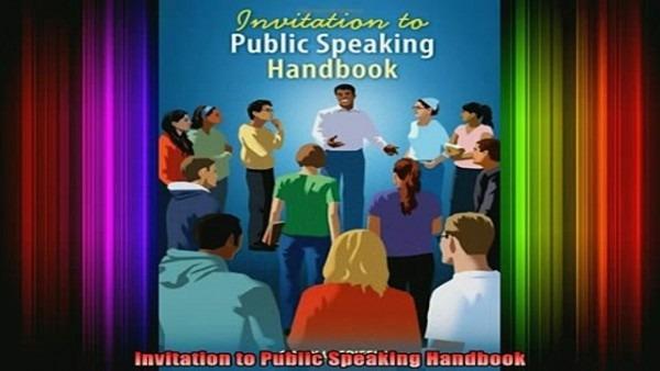 Free Full Pdf Downlaod Invitation To Public Speaking Handbook Full