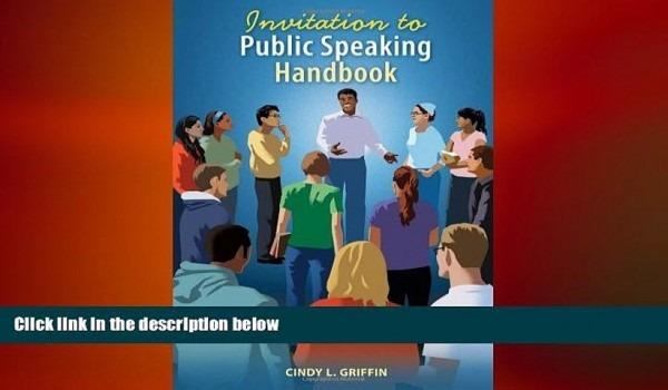 Free Download Invitation To Public Speaking Handbook Download