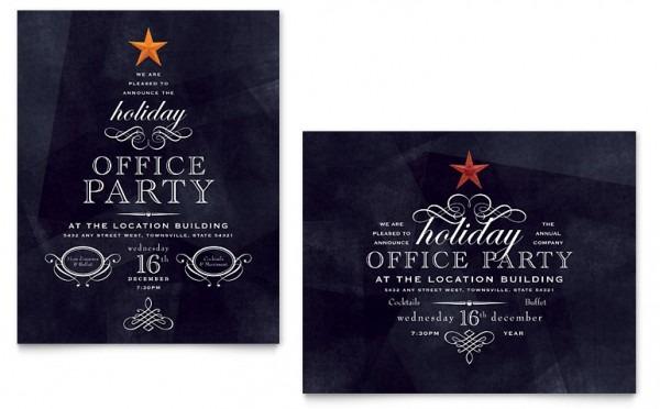 Invitation Template  Free Holiday Party Invitation Templates
