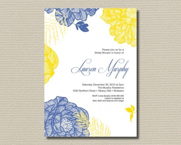 Yellow Wedding Invitations Yellow Wedding Invitations For Makes