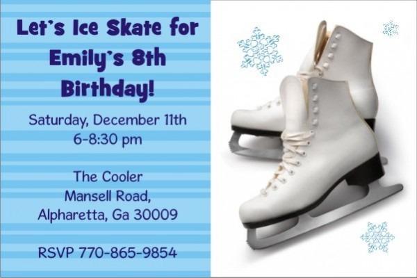 Zetaprints Eaa Cee B Aee Aecc Elegant Ice Skating Party