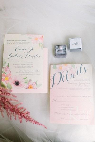 Chic Cleveland Summer Wedding With Elegant Pastels From Lauren