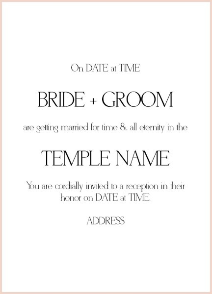 24+ How To Write Wedding Invitations