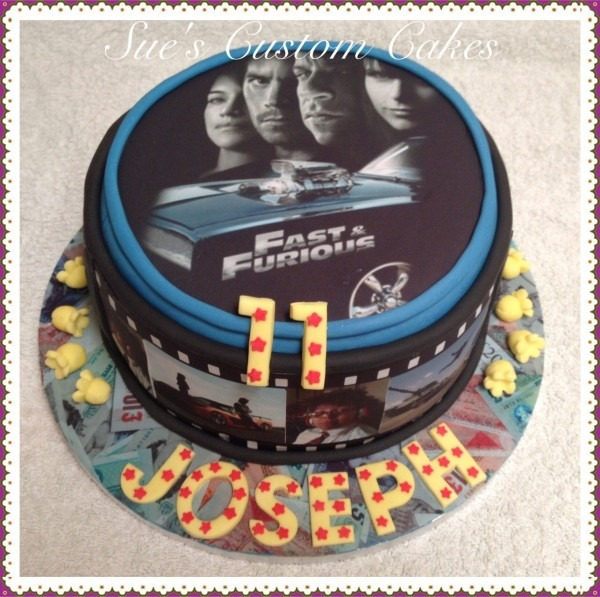 The Fast And The Furious Cake Cars, Movies
